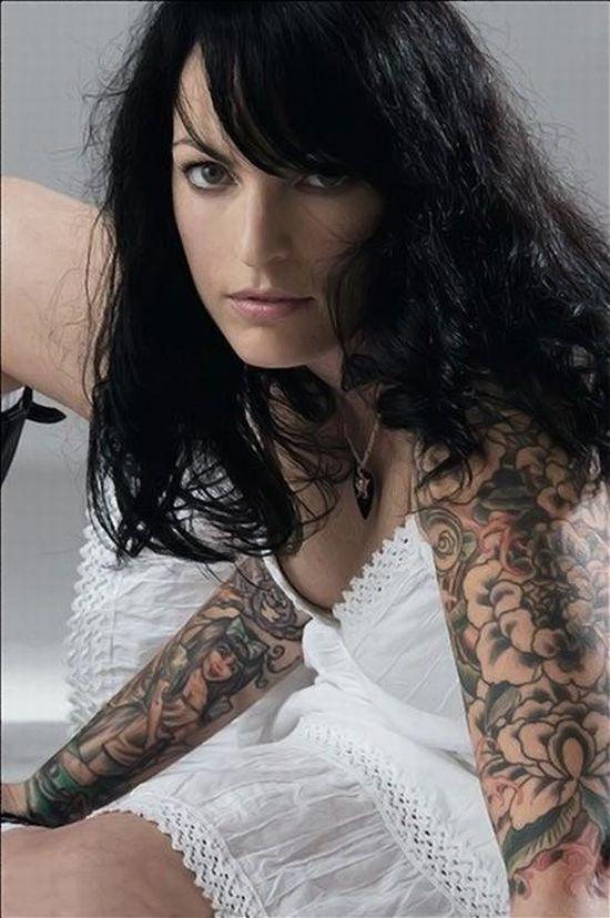 Tato-tato Cantik di Tubuh Wanita Anggun dan Lembut, Ayu, Feminin dan ...